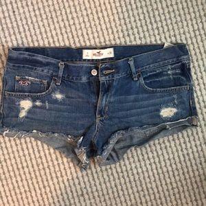 Hollister short shorts size 11 W30
